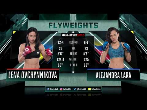 Bellator MMA: Alejandra Lara vs. Lena Ovchynnikova – FULL FIGHT