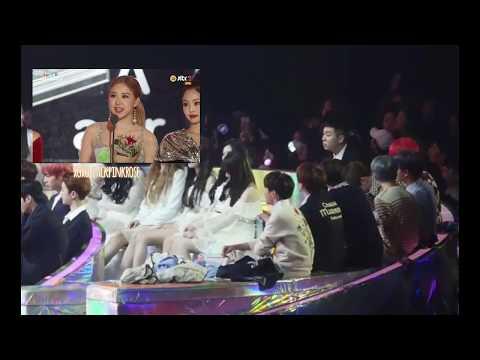 BTS reaction to Blackpink's Winning Speech [MMA 2018]