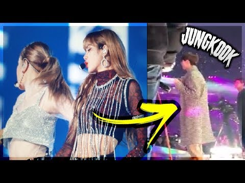 JUNGKOOK's reaction to BLACKPINK 'DDU DU DDU DU' / Idols Interactions (MMA 2018)