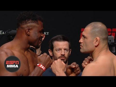 UFC Fight Night: Ngannou vs. Velasquez Weigh-ins [FULL]   ESPN MMA