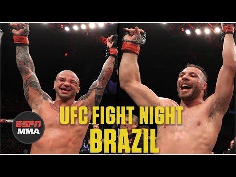 Thiago Alves, Markus Perez highlight UFC Fight Night: Brazil undercard | MMA Highlights