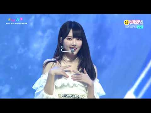 GFRIEND (여자친구) Time for the moon night (밤) MMA 2018 Melon Music Awards 2018 | 1080P 60FPS