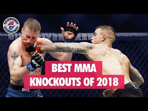 Best MMA Knockouts of 2018 (UFC, Bellator, LFA)