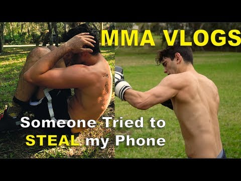 Hitting pads, Another Workout where I puke, MMA Training Vlog (Wrestling Workouts)