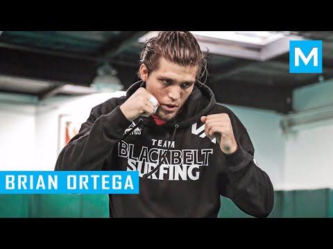 Brian Ortega MMA Training Highlights   Muscle Madness