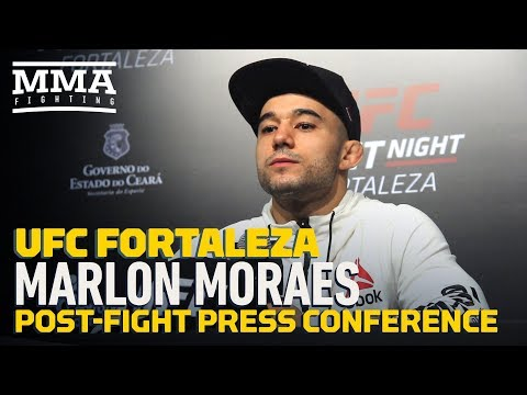 UFC Fortaleza: Marlon Moraes Post-Fight Press Conference – MMA Fighting