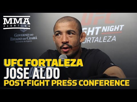 UFC Fortaleza: Jose Aldo Post-Fight Press Conference – MMA Fighting