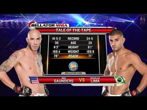 Bellator MMA: Douglas Lima vs. Ben Saunders – FULL FIGHT