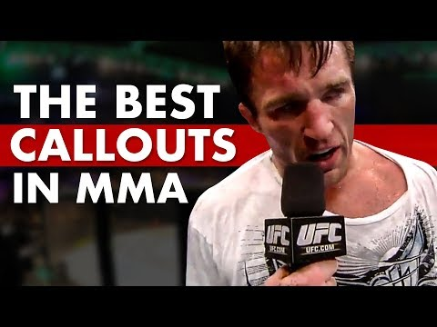 The 10 Best Post-Fight Callouts in MMA History