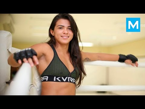 Claudia Gadelha MMA Training | Muscle Madness