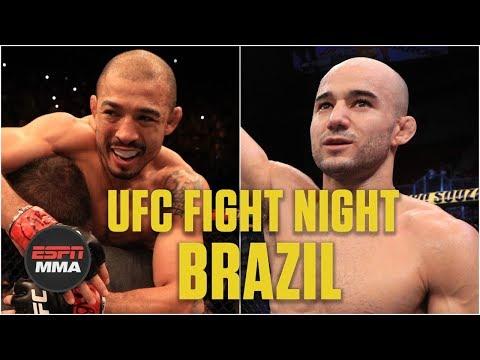 Jose Aldo's TKO, Marlon Moraes' gullotine at UFC Fight Night: Brazil main card | MMA Highlights