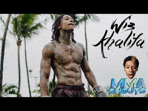 "Wiz Khalifa on training Muay Thai : ""I smoke before I train"" | MMA Shouts | Hip Hop"