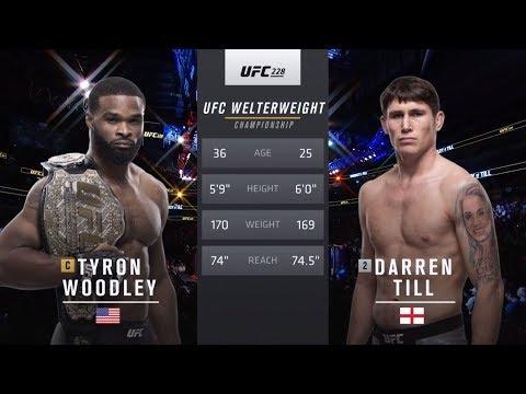 UFC 235 Free Fight: Tyron Woodley vs Darren Till