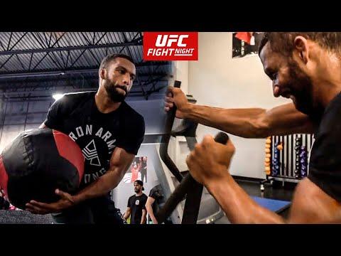 MMA Speed and Power Training   Edson Barboza UFC Fight Night Philadelphia