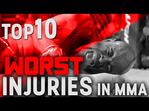 TOP 10 Worst Injuries in MMA
