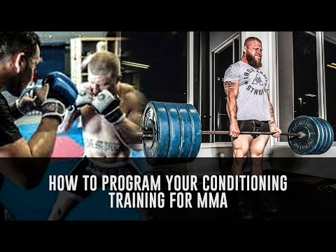 How to Balance Conditioning and Skills Training for MMA