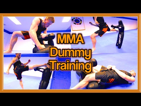 MMA & Taekwondo Training on Century Dummy | Martial Arts Kicks