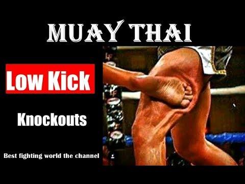 Muay Thai – Low Kick 🚨 Knockouts 🚨