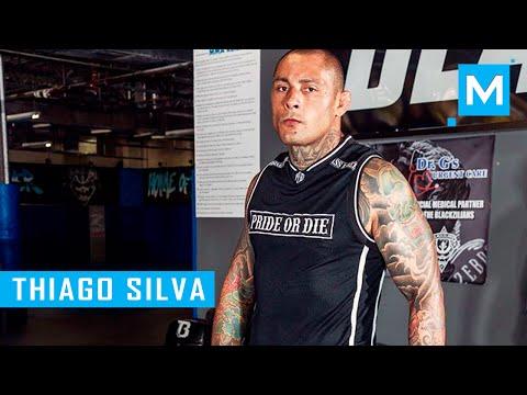 Thiago Silva MMA Training Highlights   Muscle Madness
