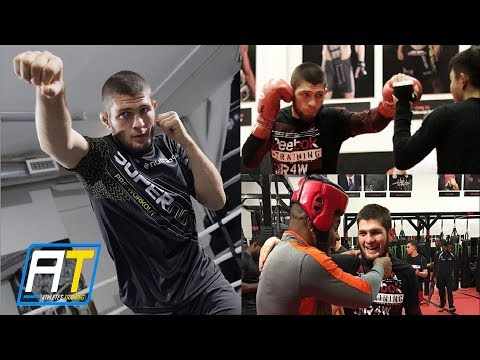 Khabib Nurmagomedov Strength & MMA Training for Tony Ferguson – UFC 223 | Athletes Training