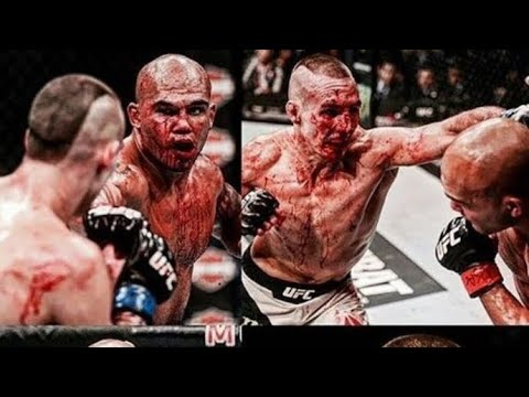 """ THE BLOODIEST FIGHT IN UFC HISTORY! (2018) RORY MCDONALD VS ROBBIE LAWLER!"