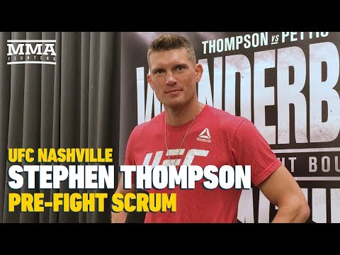 UFC Nashville: Stephen Thompson Expects 'Straight Up Ninja Stuff' From Anthony Pettis – MMA Fighting