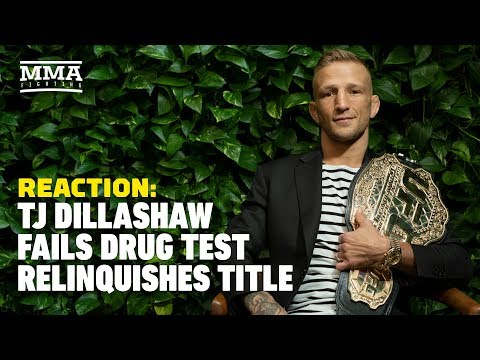 T.J. Dillashaw Fails Drug Test, Vacates UFC Title Reaction – The A-Side Live Chat