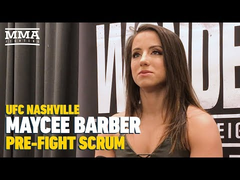 UFC Nashville: Maycee Barber Discusses Praise From Dana White, Mackenzie Dern's Pregnancy, More