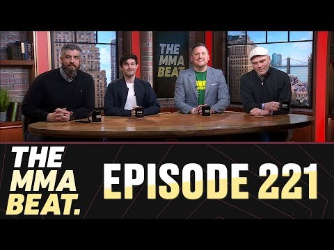 The MMA Beat: Episode 221 (Conor McGregor's Arrest, UFC London: Till vs. Masvidal, JDS Resurgence)