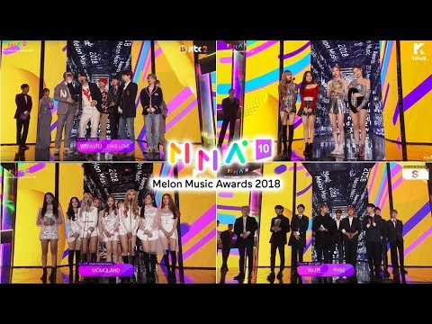 All The Winners Of 2018 Melon Music Awards (2018 MMA)