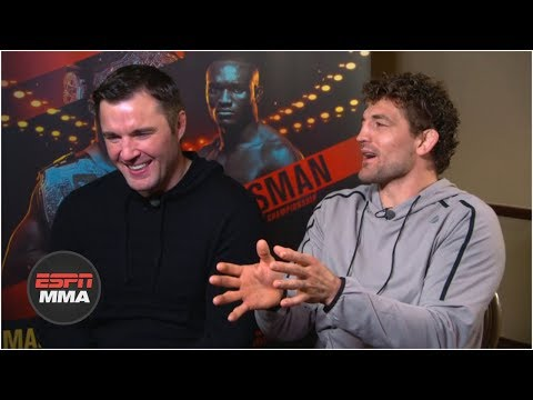 Ben Askren and Chael Sonnen judge the best trash talk in combat sports history | ESPN MMA