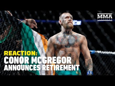 Conor McGregor Tweets His Retirement From MMA – MMA Fighting