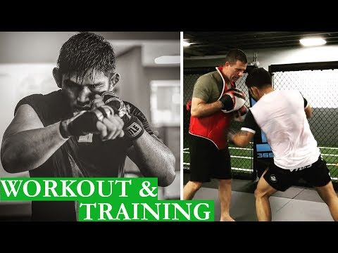 Aung La Nsang Workout and MMA Training 2018