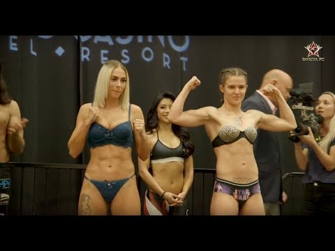 Invicta FC 32 Ceremonial Weigh-Ins – MMA Fighting
