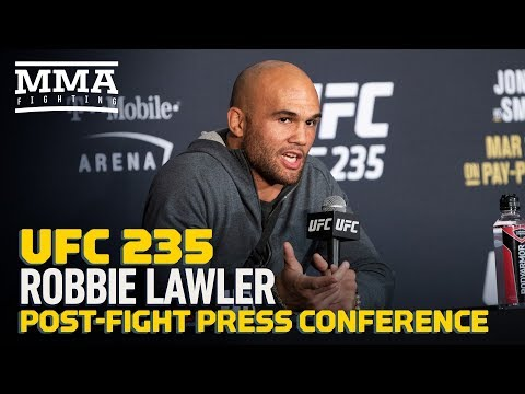 UFC 235: Robbie Lawler Post-Fight Press Conference – MMA Fighting