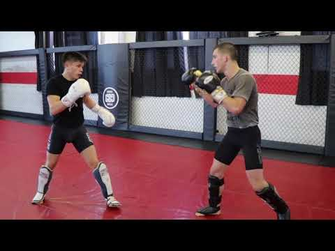 Sparring at Tristar MMA/Coach Zahabi