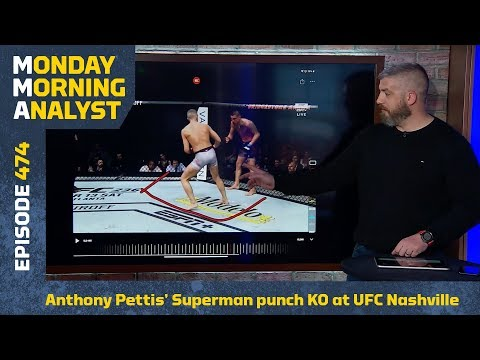 How Anthony Pettis Made His Superman Punch on Wonderboy Perfect | Monday Morning Analyst #474