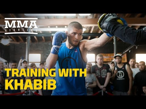 Training With Khabib: Teammates Talk What Makes Nurmagomedov Different – MMA Fighting