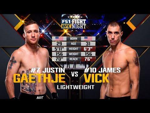 UFC Philadelphia Free Fight: Justin Gaethje vs James Vick
