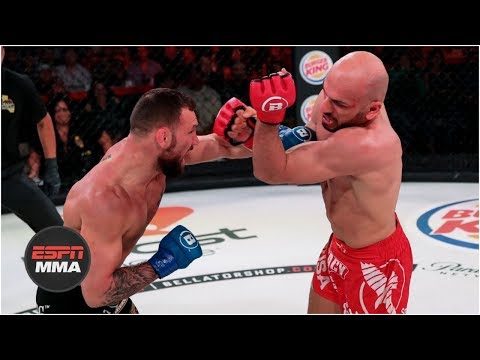 Brandon Girtz beats Saad Awad in slugfest | Bellator 219 Highlights | ESPN MMA
