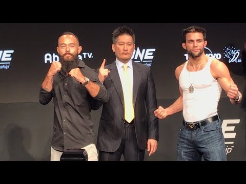 ONE Championship: A New Era Press Conference Staredown Highlights – MMA Fighting
