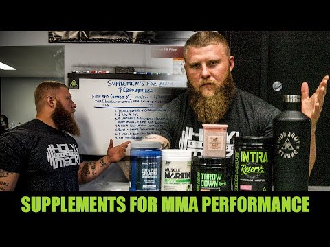 Supplements for MMA Performance