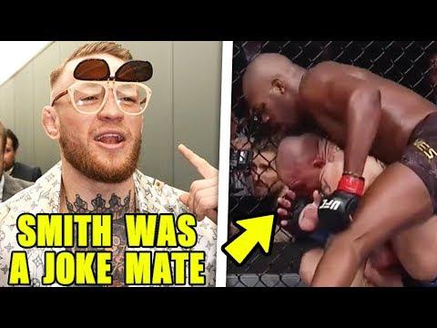 MMA Community reacts to Jon Jones vs Anthony Smith, UFC 235 highlights, Conor McGregor