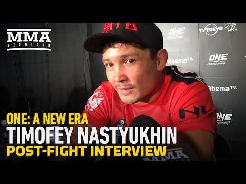 ONE Championship: Timofey Nastyukhin Reacts to Knocking Out 'Legend' Eddie Alvarez – MMA Fighting