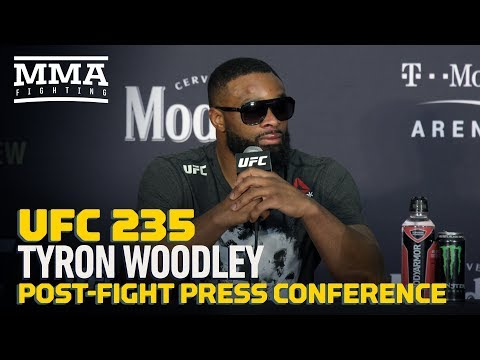 UFC 235: Tyron Woodley Post-Fight Press Conference – MMA Fighting
