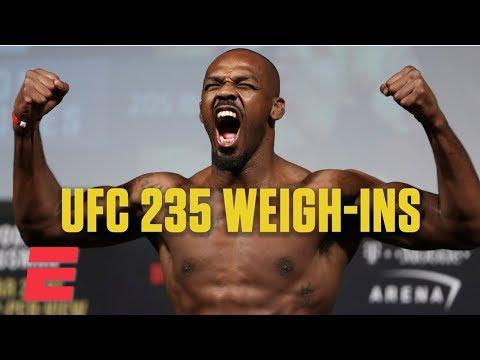 Best of UFC 235 Weigh-Ins | ESPN MMA