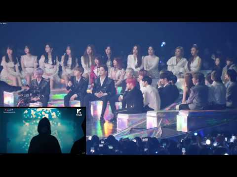 181201 MMA 2018 Artist Reaction to 방탄소년단 (BTS) FAKE LOVE & IDOL (WANNA ONE, BLACKPINK, IKON & more)