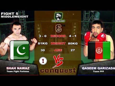 Shah Nawaz (Pakistan) VS Qasim Qarizadeh (Afghanistan) MMA fight 2019