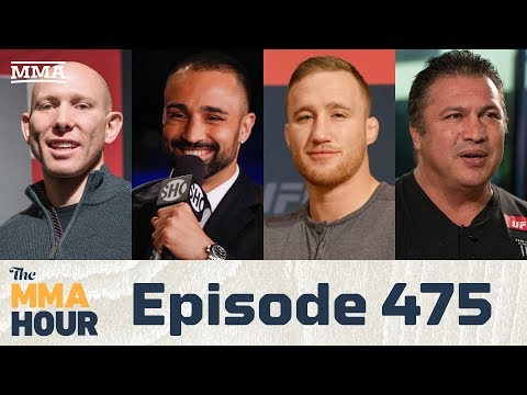 The MMA Hour: Episode 475 ( w/ Justin Gaethje, Paulie Malignaggi, Javier Mendez, Josh Emmett)