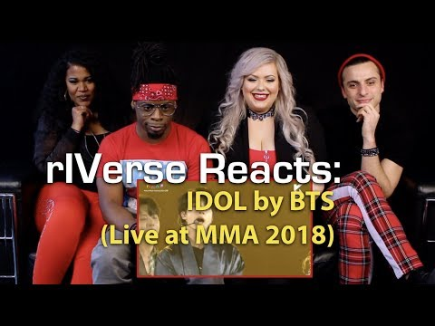 rIVerse Reacts: IDOL by BTS – MMA 2018 (Live Performance) Reaction